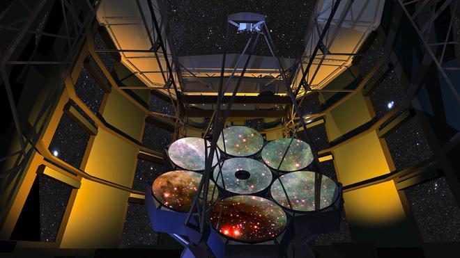 Kỳ quan mới của nhân loại: kính viễn vọng có thể nhìn rõ hình khắc trên một đồng xu ở khoảng cách 160 km - Ảnh 1.