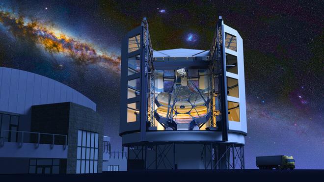 Kỳ quan mới của nhân loại: kính viễn vọng có thể nhìn rõ hình khắc trên một đồng xu ở khoảng cách 160 km - Ảnh 2.