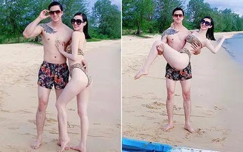 Những mỹ nhân Việt chăm diện bikini, rủ bạn trai cùng khoe body nóng bỏng - Ảnh 6.