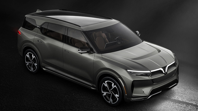 VinFast VF e36 lộ diện rõ nét trên sóng truyền hình Mỹ: SUV cỡ lớn chạy điện tự lái sắp bán ra thị trường - Ảnh 7.