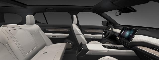 VinFast VF e36 lộ diện rõ nét trên sóng truyền hình Mỹ: SUV cỡ lớn chạy điện tự lái sắp bán ra thị trường - Ảnh 9.