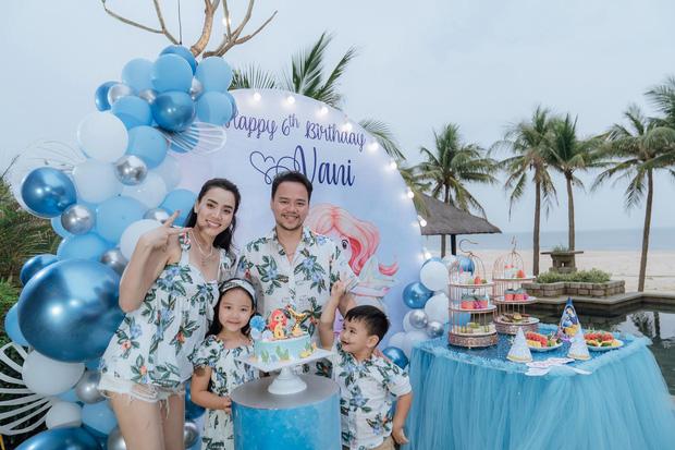 Con gái Trang Nhung mới 6 tuổi đã được chú ý nhờ nhan sắc gen trội trong tiệc sinh nhật - ảnh 1