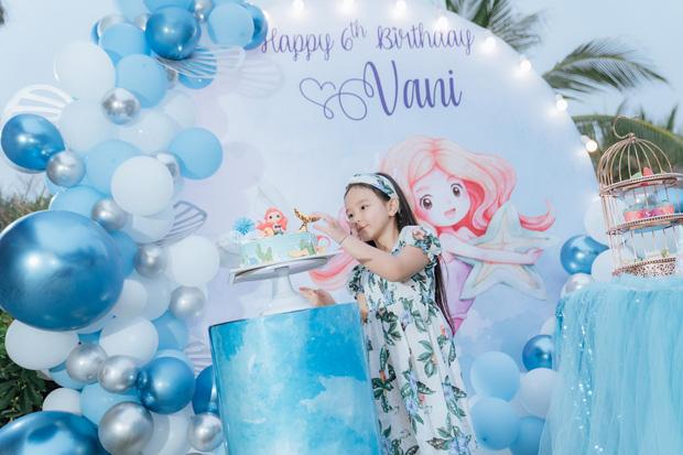 Con gái Trang Nhung mới 6 tuổi đã được chú ý nhờ nhan sắc gen trội trong tiệc sinh nhật - ảnh 5