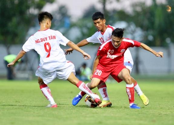 Kết quả U19 PVF vs U19 An Giang: Phô trương sức mạnh - Ảnh 1.