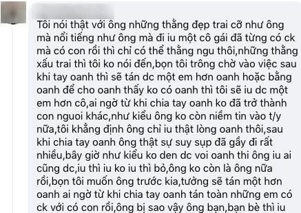 """Huỳnh Anh bị chê là """"thằng ngu"""" khi yêu single mom, bạn gái hơn 6 tuổi nổi giận đáp trả - Ảnh 3."""