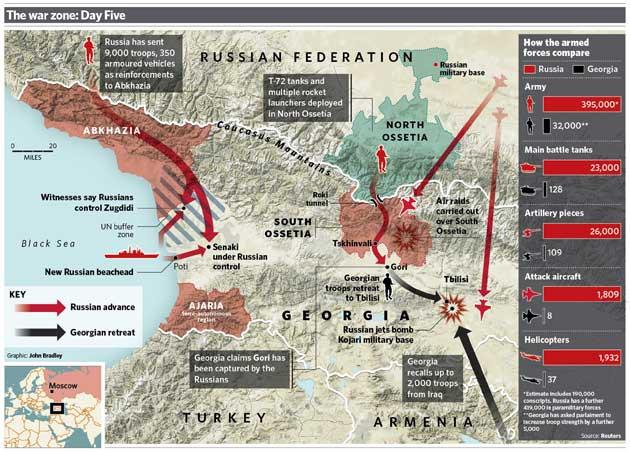 Thắng lợi với 3 chiến thuật của Liên Xô ở Gruzia, ông Putin lập tức áp dụng với Ukraine? - Ảnh 7.