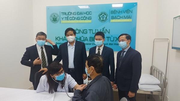 Bệnh viện Bạch Mai đã tiếp nhận 5 Giáo sư và Phó giáo sư đến làm việc - Ảnh 1.