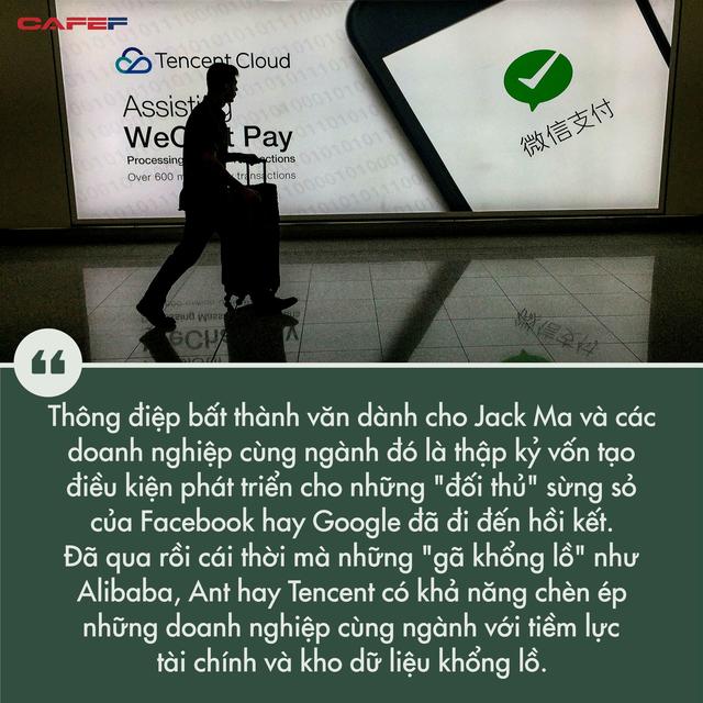 Hứng loạt đòn trừng phạt nặng nề, những gì xảy ra với Jack Ma cho thấy dấu chấm hết với thời hoàng kim của những gã khổng lồ công nghệ Trung Quốc - Ảnh 2.