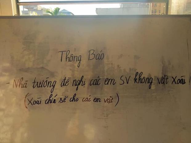 Nhà trường ra thông báo cấm sinh viên làm một chuyện mà ai đọc xong cũng phì cười, dòng chú thích bên dưới mới hài hước hơn - Ảnh 1.