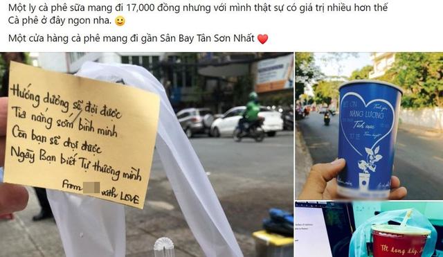 Chiêu PR cao tay của quán take away Sài Gòn: Mỗi ly cà phê đính kèm một lời chúc viết tay - Ảnh 2.
