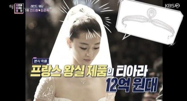 Công bố đám cưới đắt đỏ nhất Kbiz: Váy 1,6 tỷ, nhẫn 10 tỷ chưa sốc bằng giá món phụ kiện từ Hoàng gia Pháp, cô dâu là ai? - Ảnh 5.
