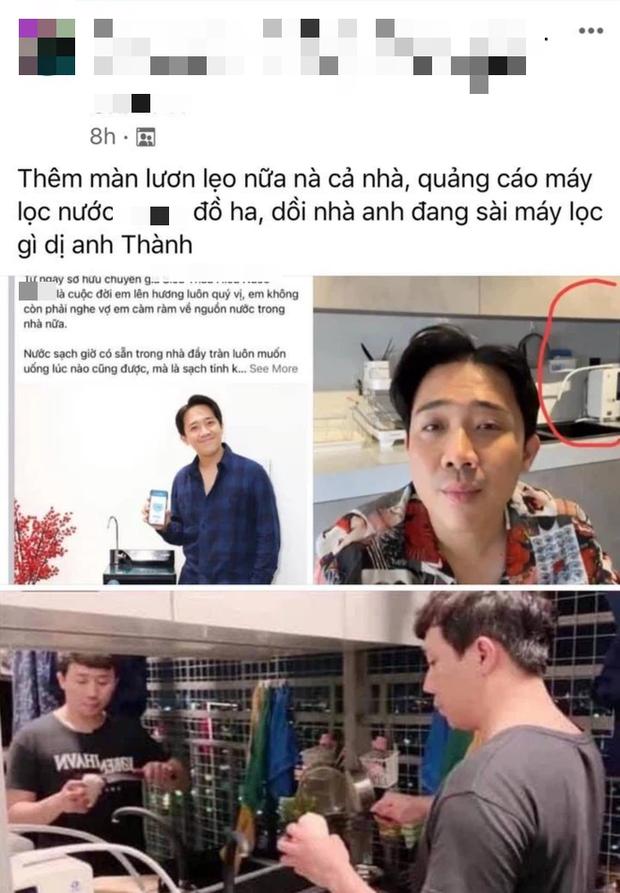 Netizen soi chi tiết tố Trấn Thành trước sau bất nhất: Lên mạng khẳng định dùng hãng A để PR, ở nhà lại xài hãng B, liệu có đáng bị chỉ trích? - Ảnh 1.