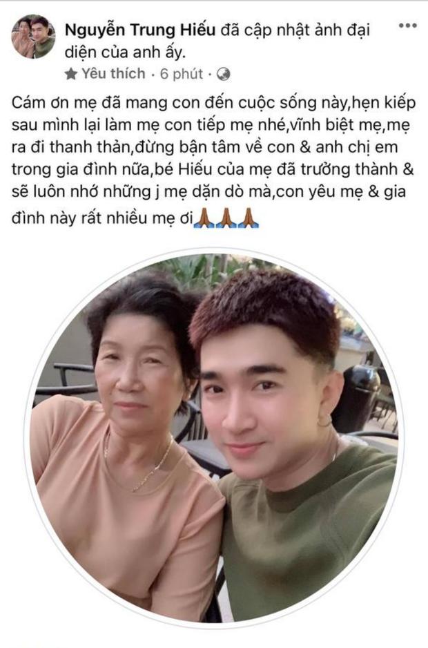 Chi Dân xót xa thông báo mẹ ruột qua đời, Lan Ngọc nói lời tiễn biệt, dàn sao Việt đồng loạt gửi lời chia buồn - Ảnh 1.