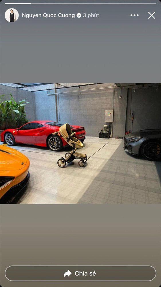 Con gái 7 tháng tuổi của Cường Đô La có tài sản khủng: Xe mui trần 2 tỷ, túi hàng hiệu đắt đỏ - Ảnh 4.