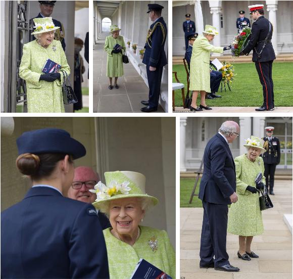 Nữ hoàng Anh lần đầu tiên xuất hiện công khai sau 5 tháng ở ẩn, dạy cho vợ chồng Meghan bài học một cách đầy tinh tế - Ảnh 1.