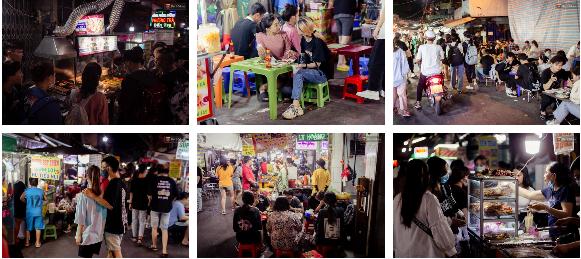 Khu chợ ẩm thực đã vào là không có đường ra ở Sài Gòn: Phần vì đồ ăn ngon, phần vì… đông muốn ná thở! - Ảnh 12.