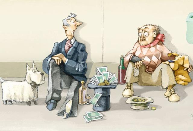 Thói quen sống quyết định bạn giàu hay nghèo: 10 điều nói lên tất cả về sự khác biệt giữa 2 tầng lớp xã hội, bạn có thấy chính mình trong đó? - Ảnh 1.