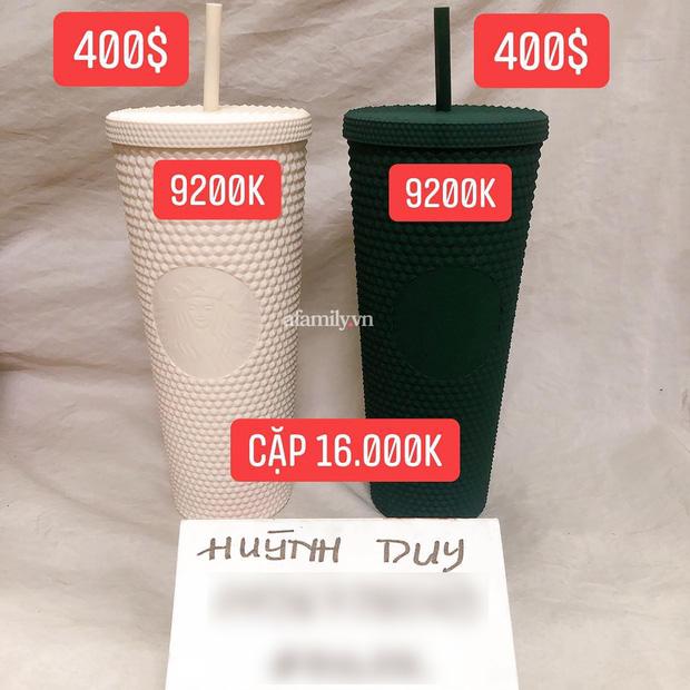 Ngã ngửa vì hiện tượng đầu cơ ly Starbucks, giá tăng chóng mặt một cách khó hiểu đến mức mua 1 triệu - bán lại tận 20 triệu cho 2 chiếc ly nhựa cũng cháy hàng  - Ảnh 12.