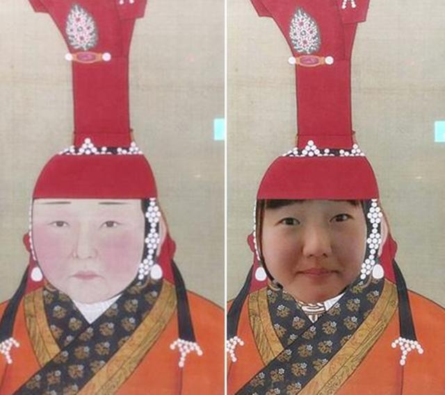 Cô gái Nhật Bản đến thăm Tử Cấm Thành, nhìn bức tranh trên tường giật mình: Đây không phải tôi sao? - Ảnh 3.