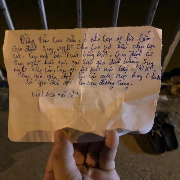 Nam thanh niên nghi nhảy cầu tự tử, để lại thư tuyệt mệnh: Đừng tìm con nữa, ở nhà con áp lực lắm - Ảnh 2.