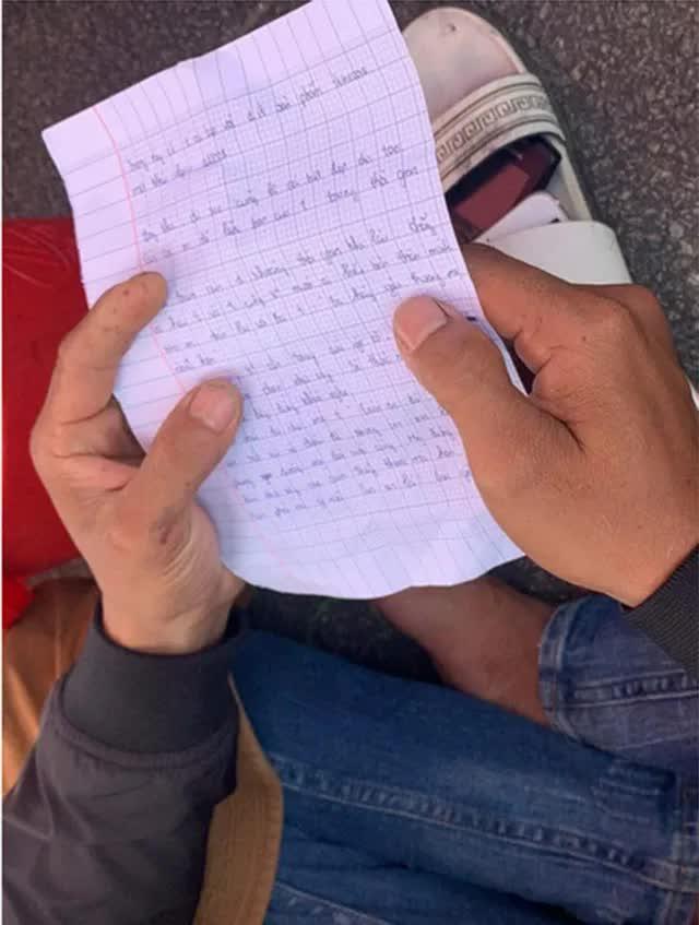 Xót xa bức thư tuyệt mệnh của nam sinh nhảy cầu Thuận Phước tự vẫn - Ảnh 3.