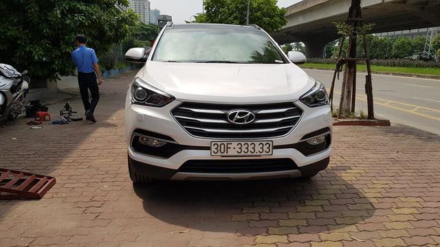 5 chủ xe Hyundai Santa Fe tại Hà Nội ẵm 5 biển ngũ quý, sang tay nhanh thu về đôi ba tỷ đồng mỗi chiếc - Ảnh 3.