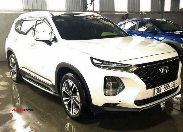 5 chủ xe Hyundai Santa Fe tại Hà Nội ẵm 5 biển ngũ quý, sang tay nhanh thu về đôi ba tỷ đồng mỗi chiếc - Ảnh 4.