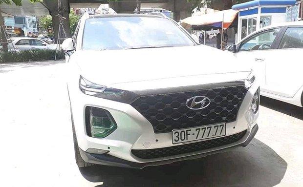 5 chủ xe Hyundai Santa Fe tại Hà Nội ẵm 5 biển ngũ quý, sang tay nhanh thu về đôi ba tỷ đồng mỗi chiếc - Ảnh 5.