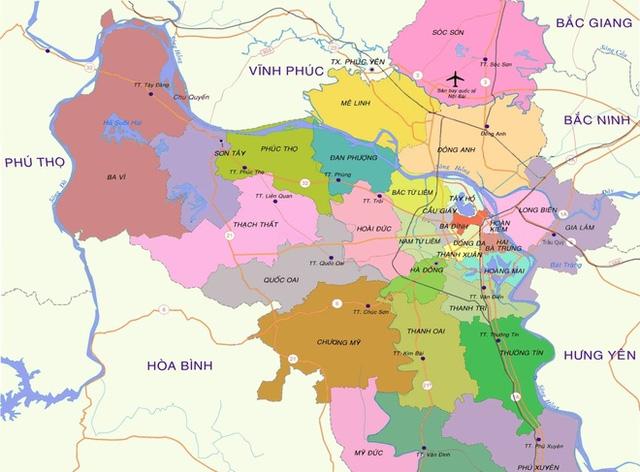 Hà Nội sẽ có thêm 8 quận: Liệu xảy ra cơn sốt đất mới? - Ảnh 1.