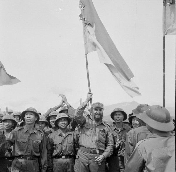 Pháo cao xạ bảo vệ lãnh tụ Cuba Fidel Castro, Nguyên thủ đầu tiên và duy nhất trên TG vào thăm vùng giải phóng Quảng Trị - Ảnh 4.