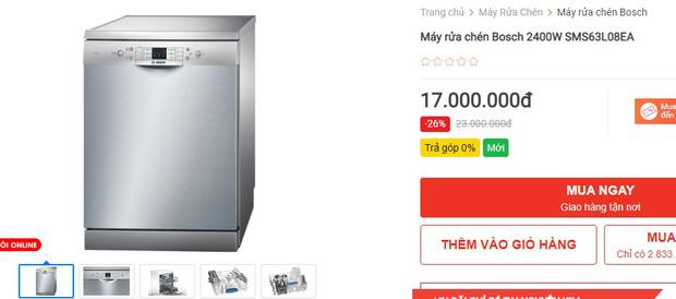 Máy rửa bát đang có giá siêu tốt: Từ 4,5 triệu là tậu được trợ thủ đắc lực giảm tải việc nhà - Ảnh 8.