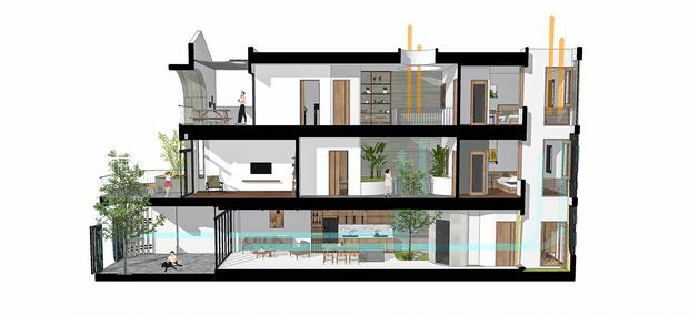 Sở hữu lô đất có vị thế đẹp, vợ chồng Đà Nẵng xây ngôi nhà nhỏ nhưng xuất sắc đến mức lên cả báo Mỹ - Ảnh 22.