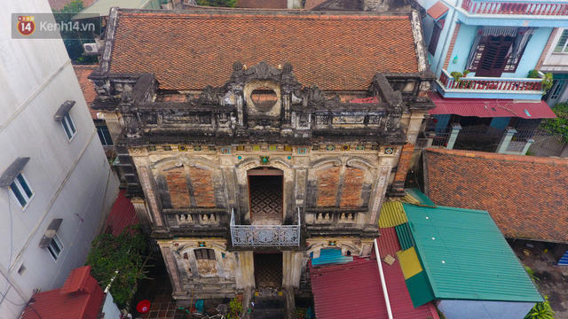 Cận cảnh biệt thự Pháp cổ hơn 100 năm của đại gia làng miến nức tiếng một thời ở Hà Nội - Ảnh 3.