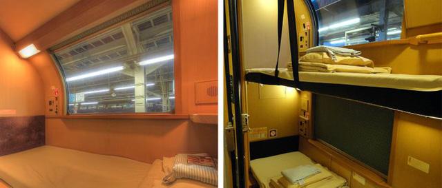 Có gì bên trong chuyến tàu xuyên đêm duy nhất còn sót lại ở Nhật Bản khiến khách du lịch phải thốt lên Không đi thì phí? - Ảnh 6.