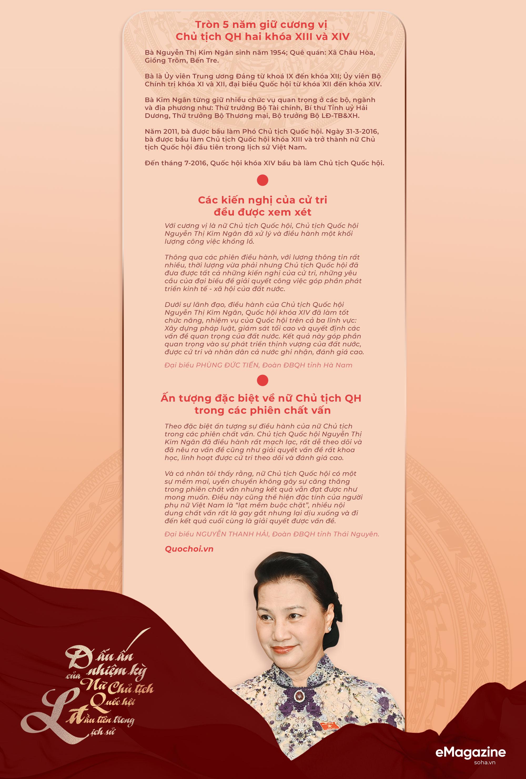 Dấu ấn nhiệm kỳ của nữ Chủ tịch Quốc hội đầu tiên trong lịch sử - Ảnh 11.
