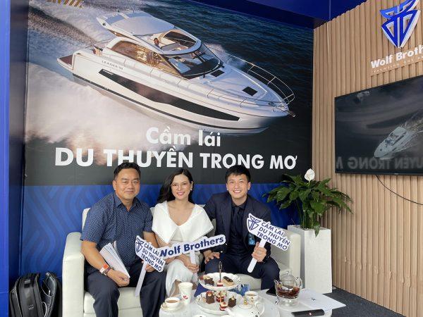 Đằng sau rổ scandal, diễn viên Huỳnh Anh đi kinh doanh, tuyên bố sứ mệnh giúp người Việt ai cũng có thể có du thuyền - Ảnh 3.