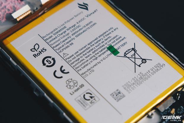Vsmart Star 5 dùng pin do Vingroup tự sản xuất, không còn dựa vào nhà sản xuất Trung Quốc - Ảnh 4.