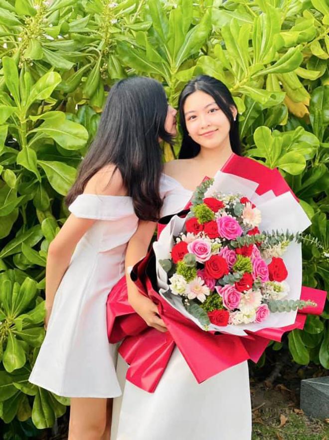 Sắc vóc tuổi 16 gây chú ý của ái nữ nhà MC Quyền Linh và bà xã đại gia - Ảnh 3.