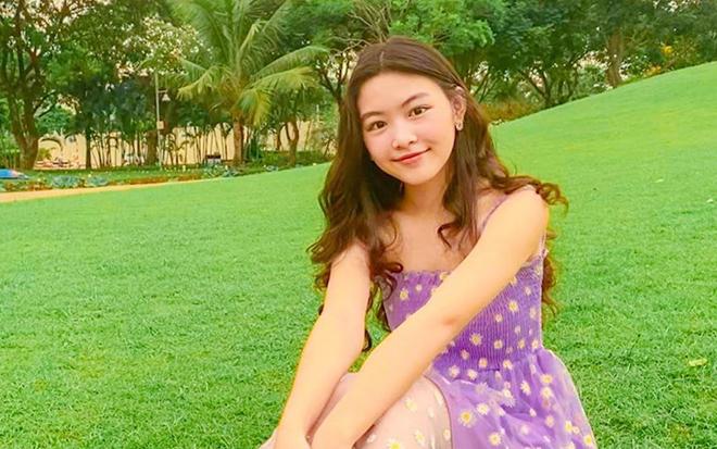 Sắc vóc tuổi 16 gây chú ý của ái nữ nhà MC Quyền Linh và bà xã đại gia - Ảnh 7.