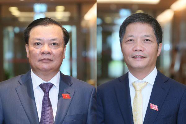 Thực hiện quy trình phê chuẩn miễn nhiệm một số Phó Thủ tướng và Bộ trưởng - Ảnh 3.