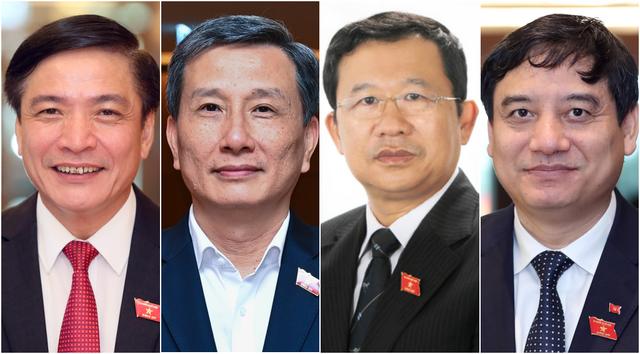 Tổng thư ký Quốc hội, Tổng Kiểm toán Nhà nước và 3 Chủ nhiệm Ủy ban mới của Quốc hội nhậm chức - Ảnh 1.