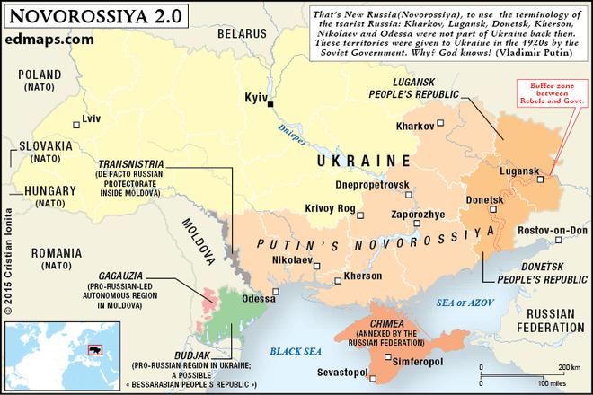 Chuyên gia: Mỹ đã bật đèn xanh, ông Putin sẽ nối Donbass với Crimea bất chấp QĐ Ukraine? - Ảnh 10.