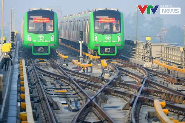 Dự kiến vận hành thương mại đường sắt Cát Linh - Hà Đông vào 30/4 - Ảnh 1.