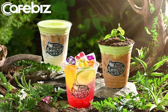 Chuỗi Café Amazon lớn nhất Thái Lan đổ bộ Việt Nam với 5 cửa hàng: Menu dành riêng cho khách Việt có cà phê đen, bạc xỉu đá, trà đào, trà vải... - Ảnh 6.