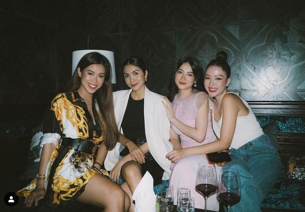 Hà Tăng khoe visual trong tiệc sinh nhật Phương Khánh, mẹ 2 con mà nhan sắc lấn át cả Hoa hậu trái đất - Ảnh 8.