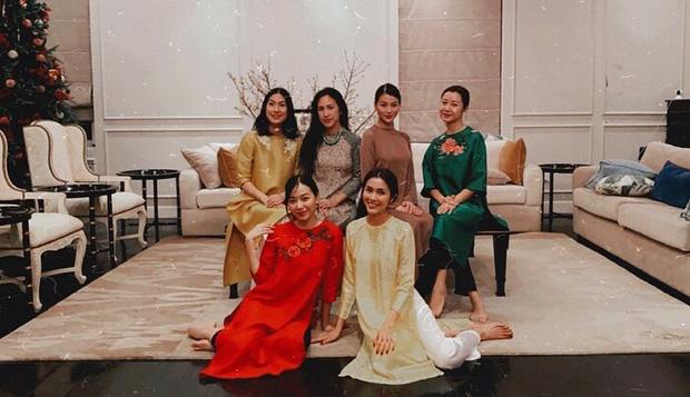 Hà Tăng khoe visual trong tiệc sinh nhật Phương Khánh, mẹ 2 con mà nhan sắc lấn át cả Hoa hậu trái đất - Ảnh 9.