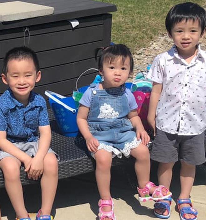 Xuân Mai hiếm hoi hé lộ cuộc sống và ảnh 3 con tại Mỹ, nhìn đến bé út mà ngỡ ngàng vì quá giống mẹ ngày xưa - Ảnh 4.