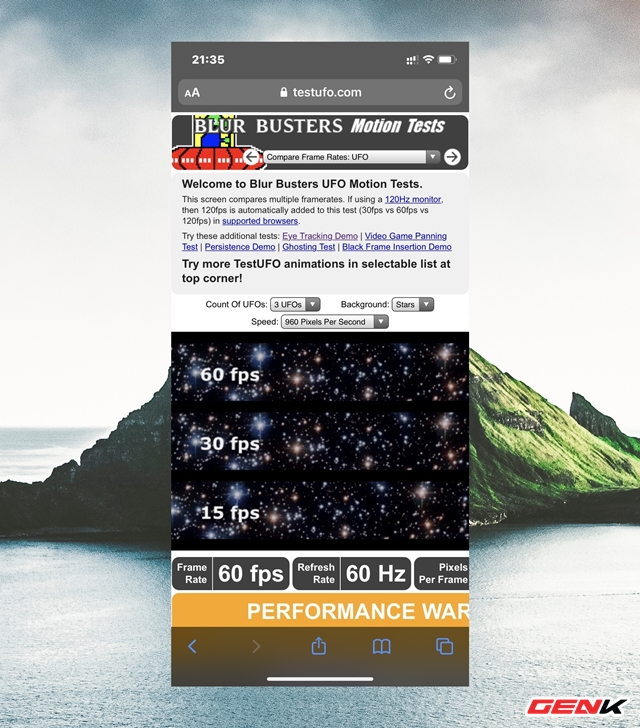 Cách kiểm tra tần số quét màn hình của điện thoại bạn mà không cần dùng ứng dụng - Ảnh 6.