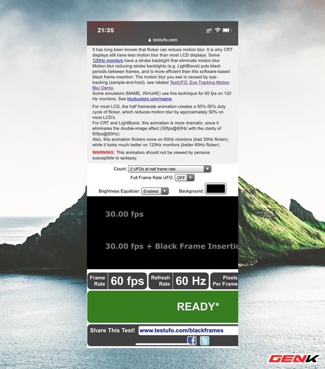 Cách kiểm tra tần số quét màn hình của điện thoại bạn mà không cần dùng ứng dụng - Ảnh 7.