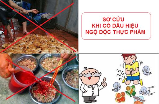 Cách xử trí ngộ độc thực phẩm - Ảnh 1.